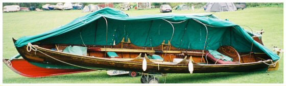 thames skiff c&ing cover 2 & Thames Camping Skiff Hire
